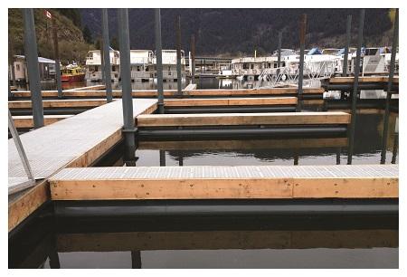 Our marina docks