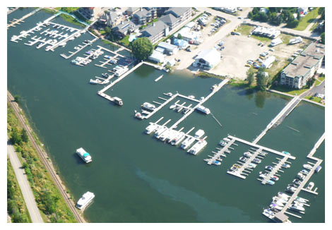 What a great summer at the new marina!